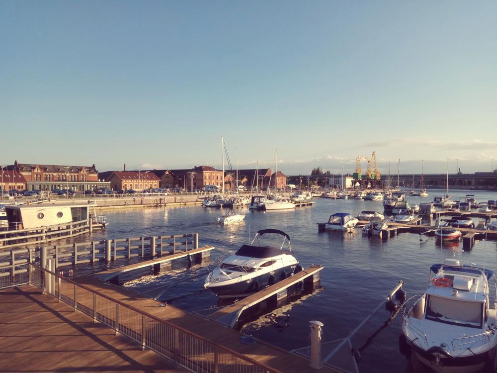 slow life w mieście - wakacje marina szczecin