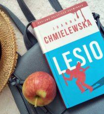 lesio książka joanna chmielewska