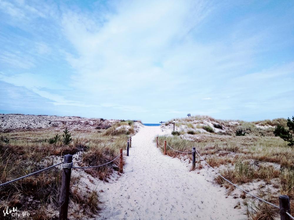 wydmy czołpino łeba