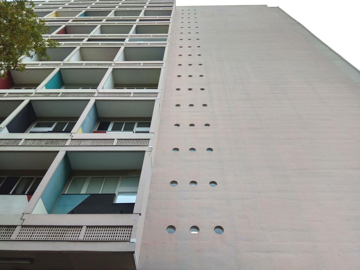 maszyna do mieszkania berlin le Corbusier
