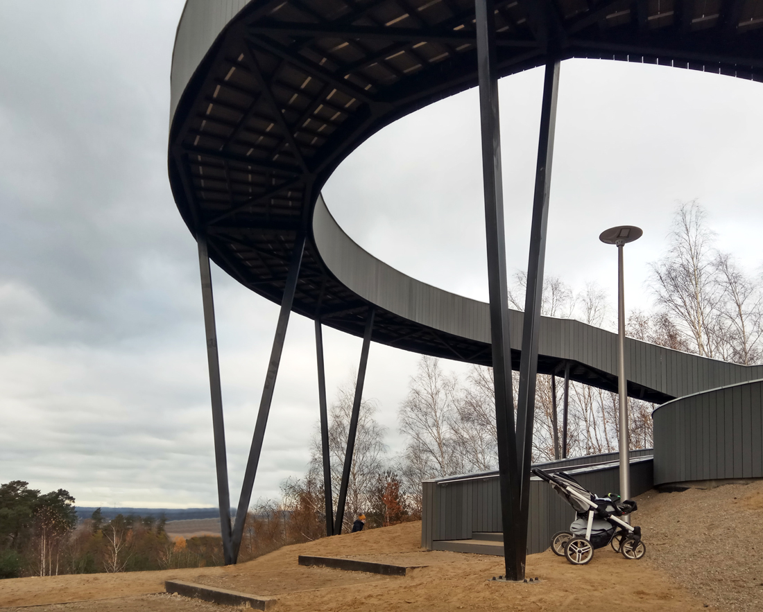 platforma widokowa w Widuchowej